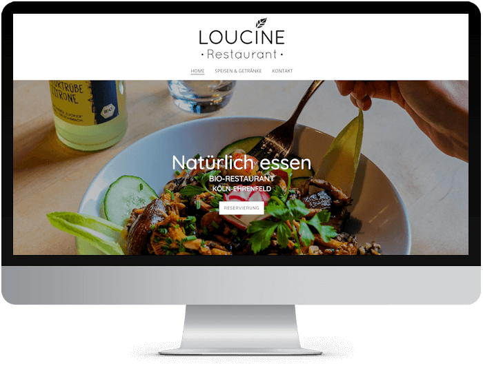 loucine web design