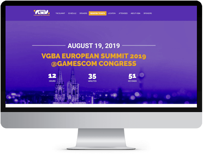 vgbaeurosummit web design